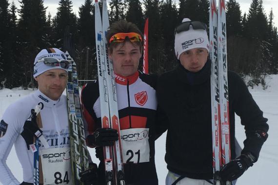 Martin Thon og Linda Helland vinnere av Madshus Skimaraton